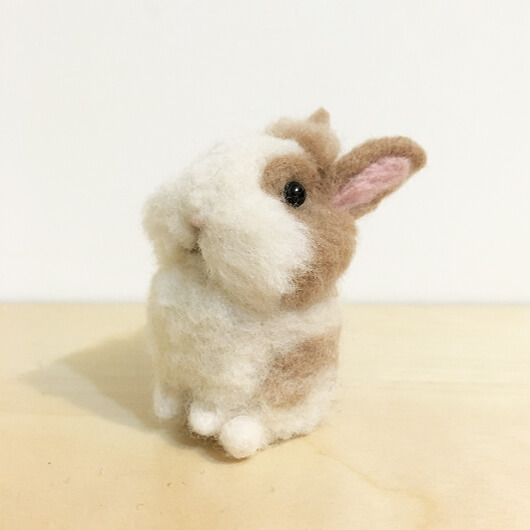羊毛氈兔寶寶-努比