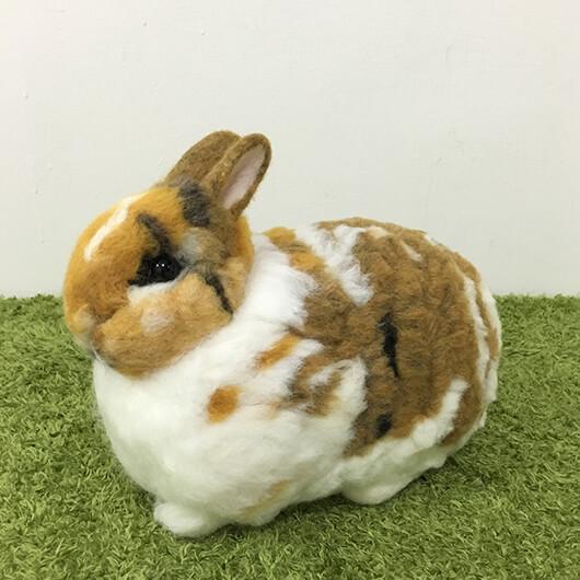 羊毛氈兔寶寶擺飾-妹妹