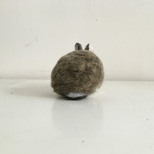 羊毛氈兔兔擺飾-一大一小兩隻寶-Felt Making