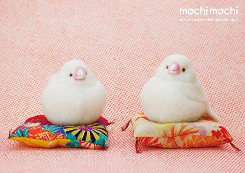 【展覽】日本可愛鳥兒羊毛氈展覽
