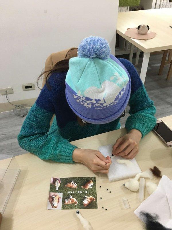 【羊毛氈課程】學生作品-55