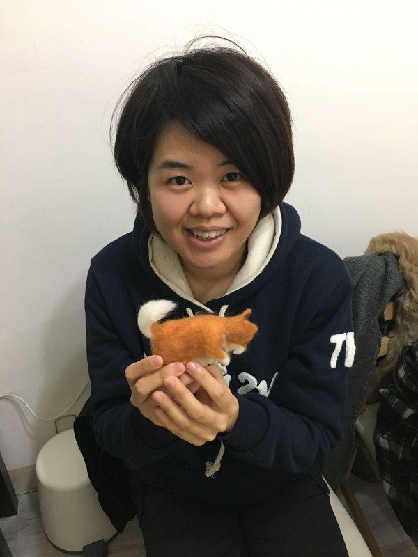 【羊毛氈課程】學生作品-52
