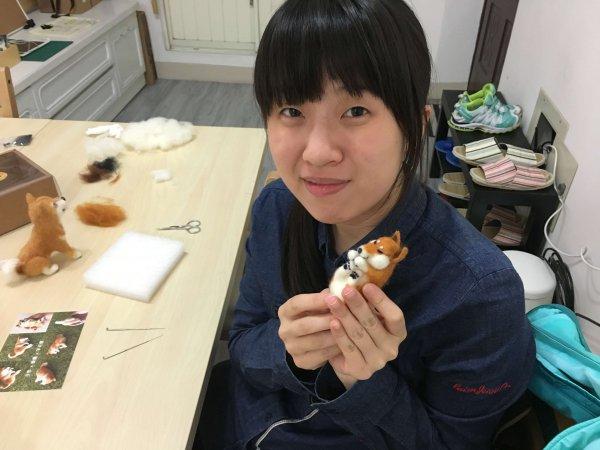 【羊毛氈課程】學生作品-51