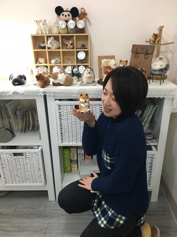 【羊毛氈課程】學生作品-82