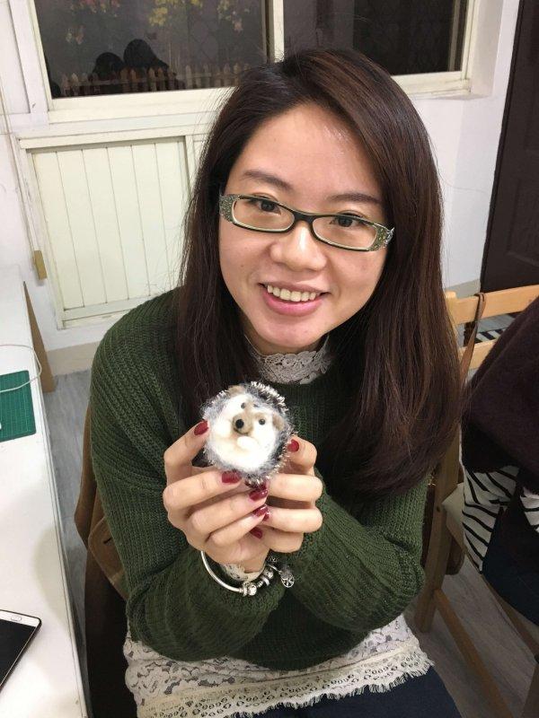【羊毛氈課程】學生作品-37