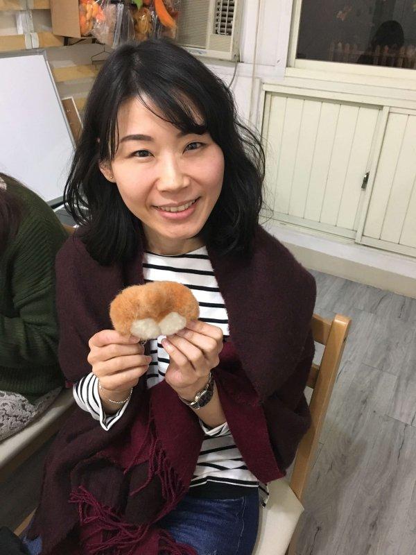【羊毛氈課程】學生作品-38