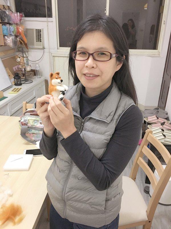 【羊毛氈課程】學生作品-46