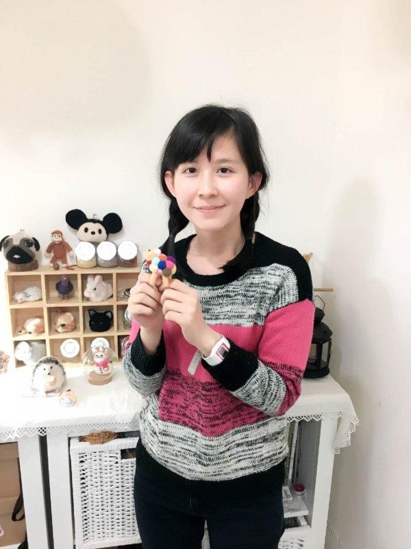 【羊毛氈課程】學生作品-40