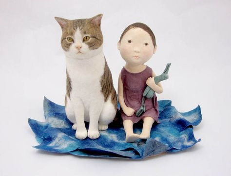 【達人】日本藝術家 大久保恭子(Kyoko Okubo),令人驚豔的羊毛氈作品