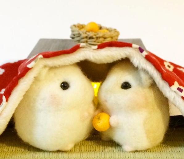 【可愛】小老鼠羊毛氈特輯