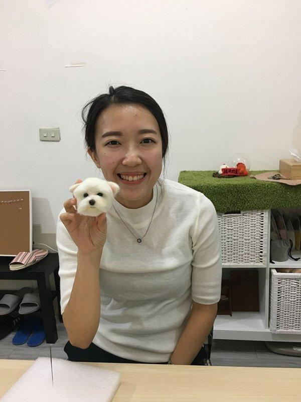 【羊毛氈課程】學生作品-10