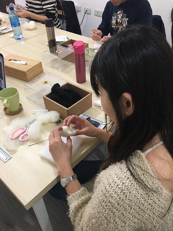 【羊毛氈課程】學生作品-3