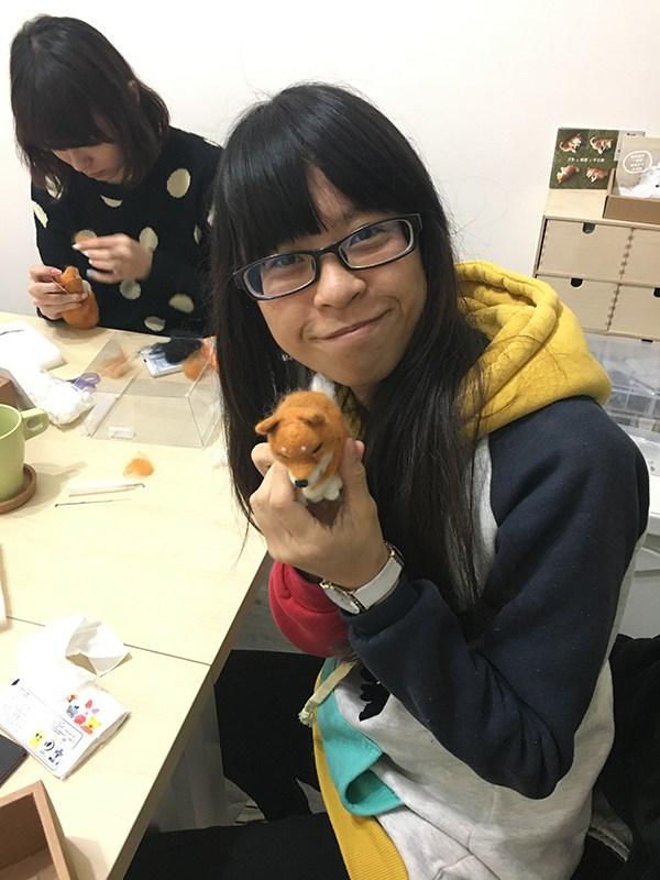 【羊毛氈課程】學生作品-4