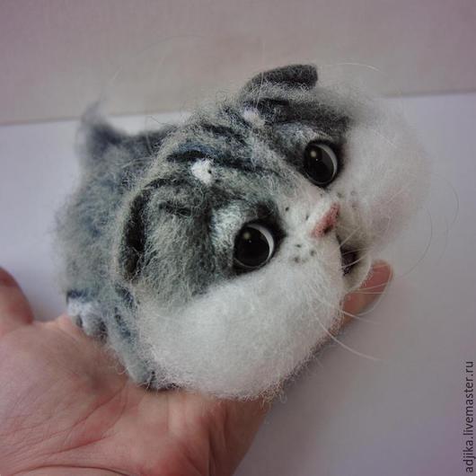 【可愛】Q版羊毛氈,貓貓表情超無辜