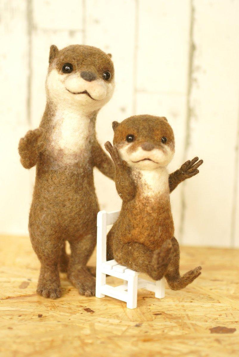 【展覽】細緻的羊毛氈動物及人物作品展覽