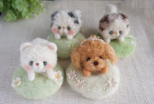 【可愛】超可愛羊毛氈毛絨絨小動物