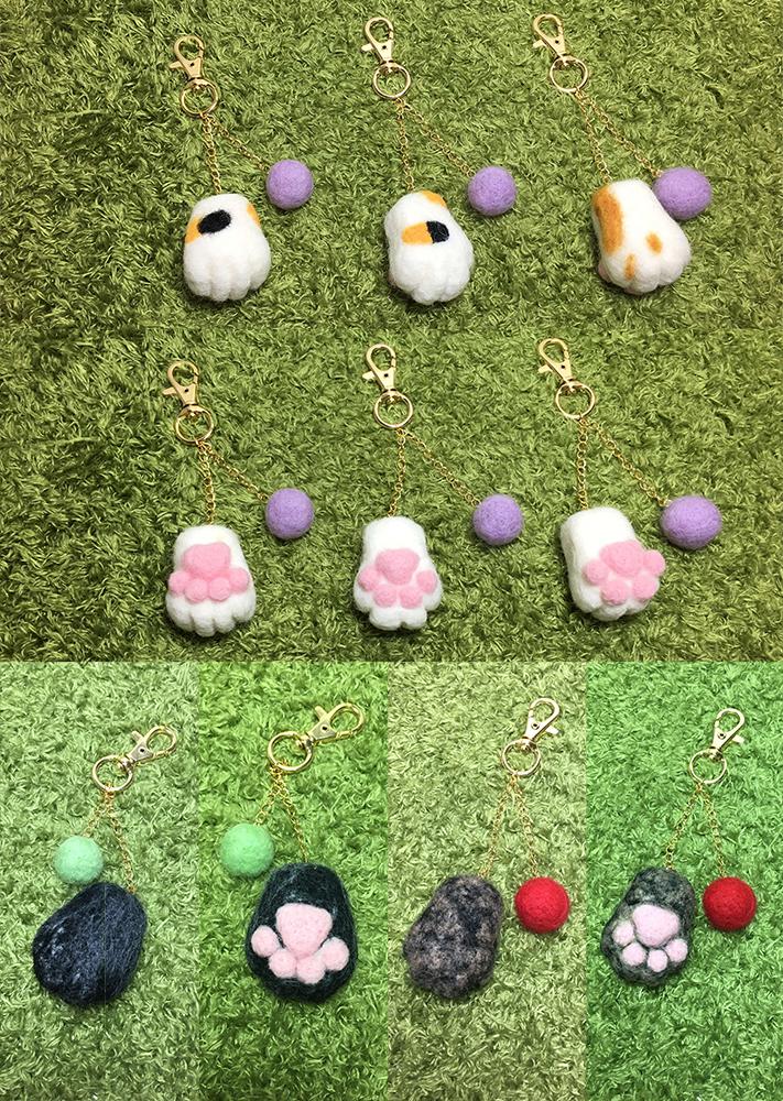 【羊毛氈教學花絮】2017第11週預約羊毛氈教學