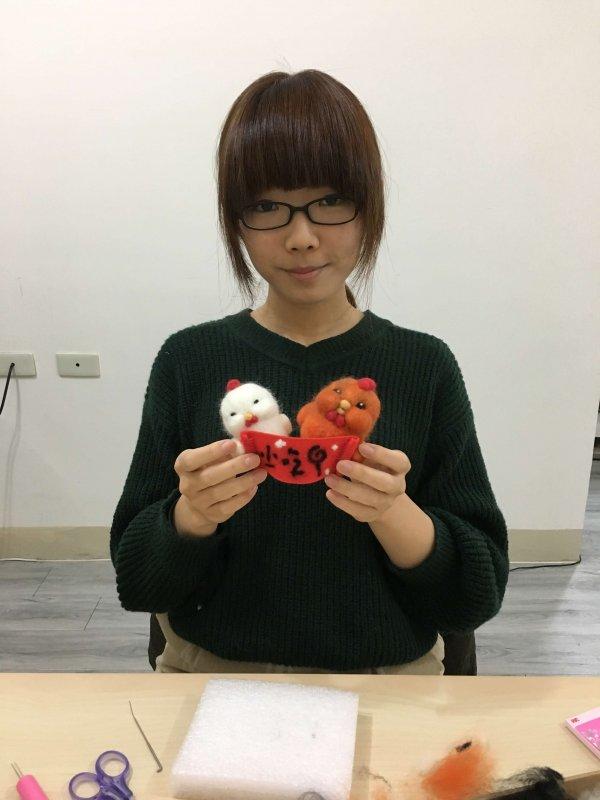 【羊毛氈課程】學生作品-30