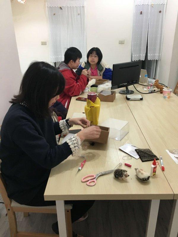 【羊毛氈課程】學生作品-17