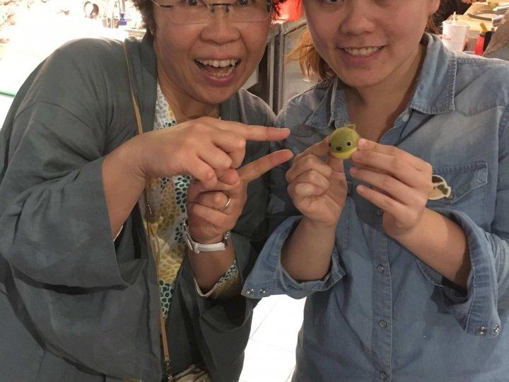 【手扎】當學生真好之日本羊毛氈老師來台灣授課