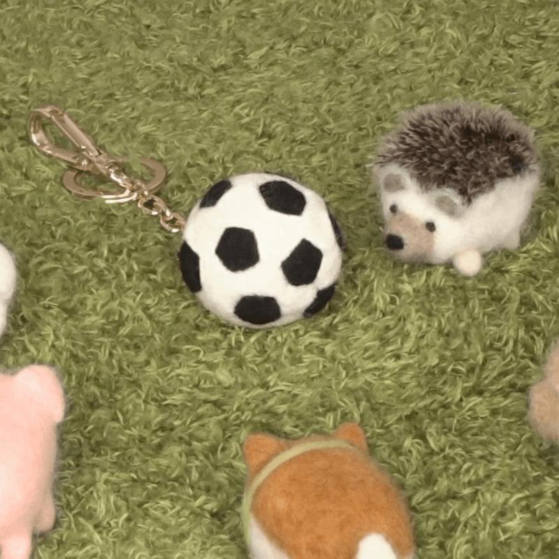 2018世足FIFA開打,球準備好了沒?羊毛氈足球陪你一起看世足