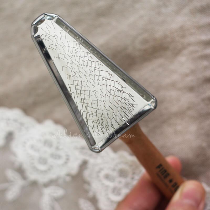 羊毛氈愛麗絲三角梳 1