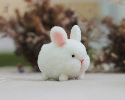 羊毛氈愛麗絲兔