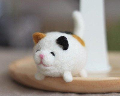 羊毛氈愛麗絲貓