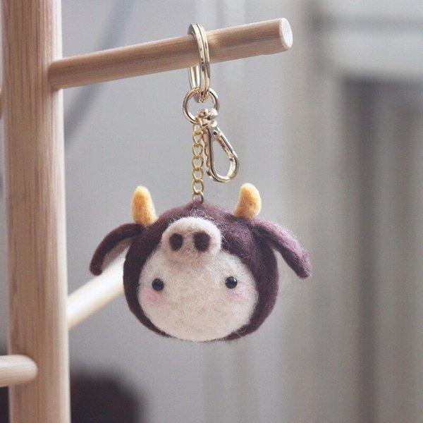 羊毛氈愛麗絲柴犬小刺蝟金牛座