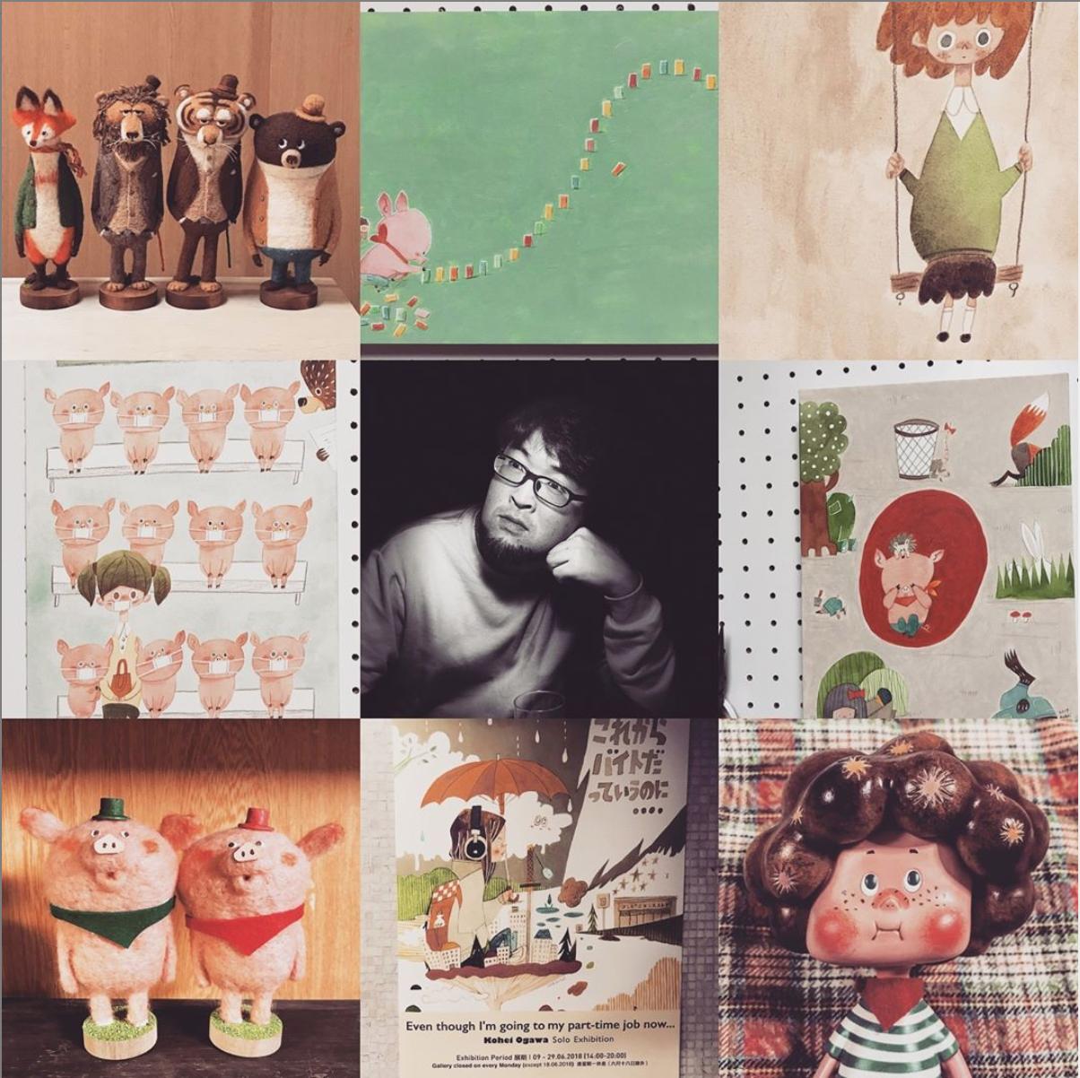 【展覽活動】小川耕平 作品展-喜歡繪本動物羊毛氈作品的朋友不要錯過喔!
