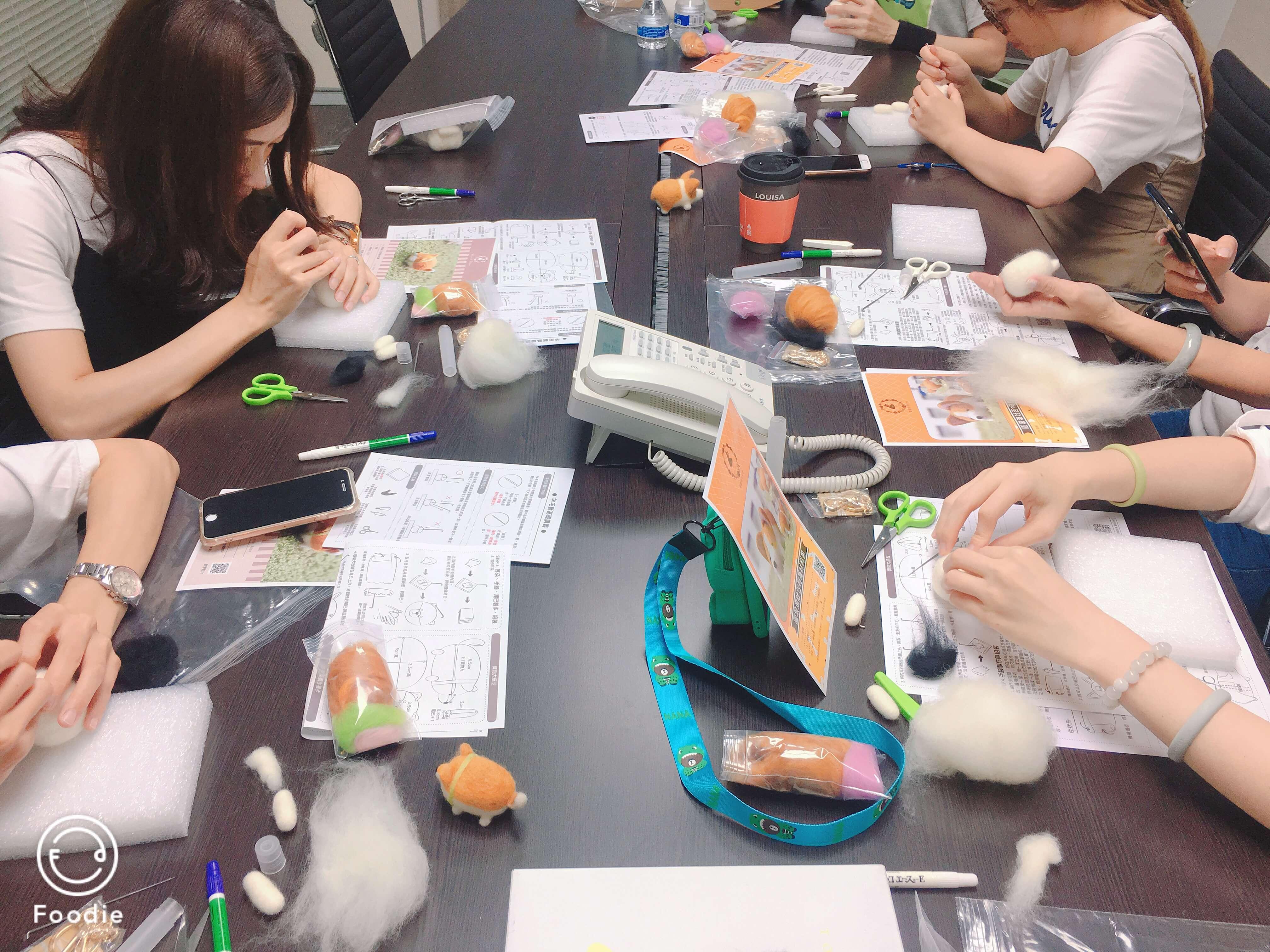 【合作邀約】療癒手作羊毛氈團康活動X聯虹