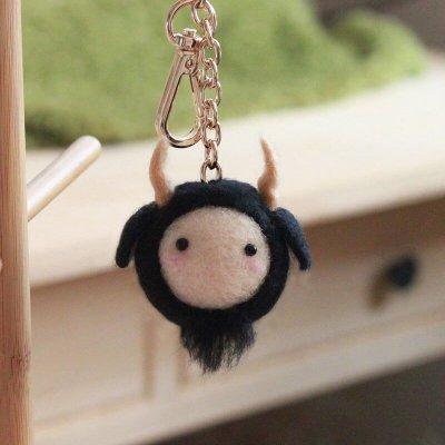 羊毛氈愛麗絲摩羯