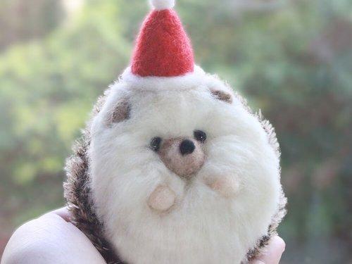 愛麗絲羊毛氈小阿肥刺蝟羊毛氈材料包01