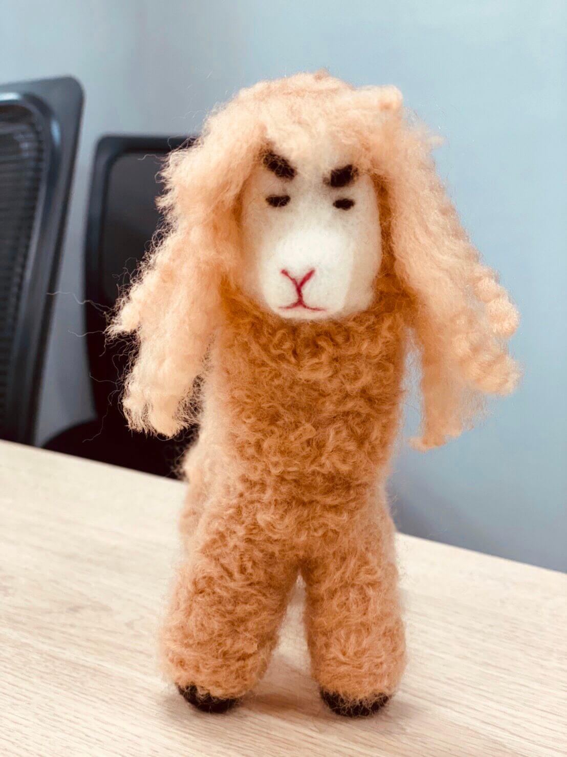 愛麗絲羊毛氈草泥馬羊駝