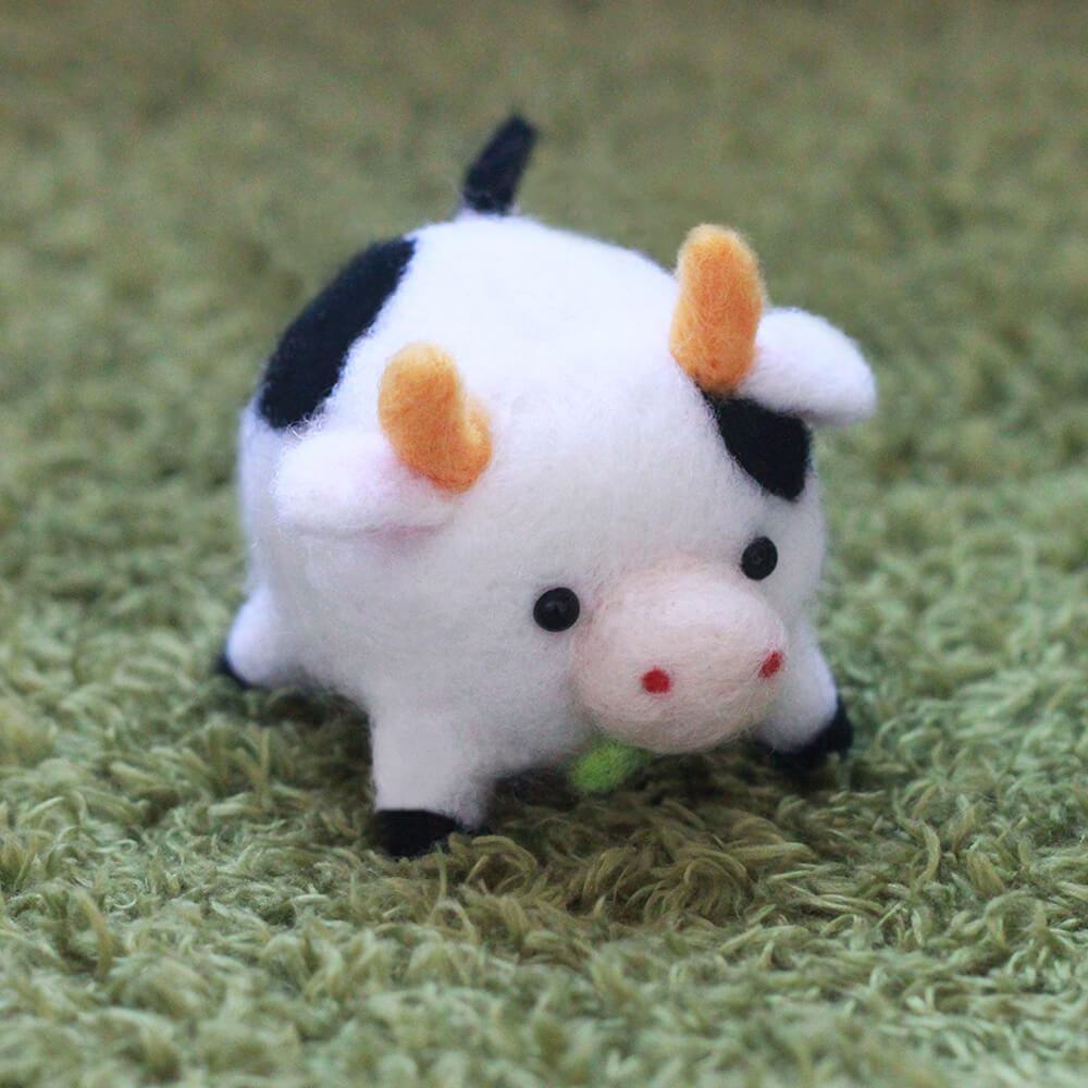 愛麗絲羊毛氈乳牛p01